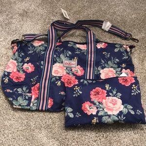 New Cath kidston foldaway overnight bag